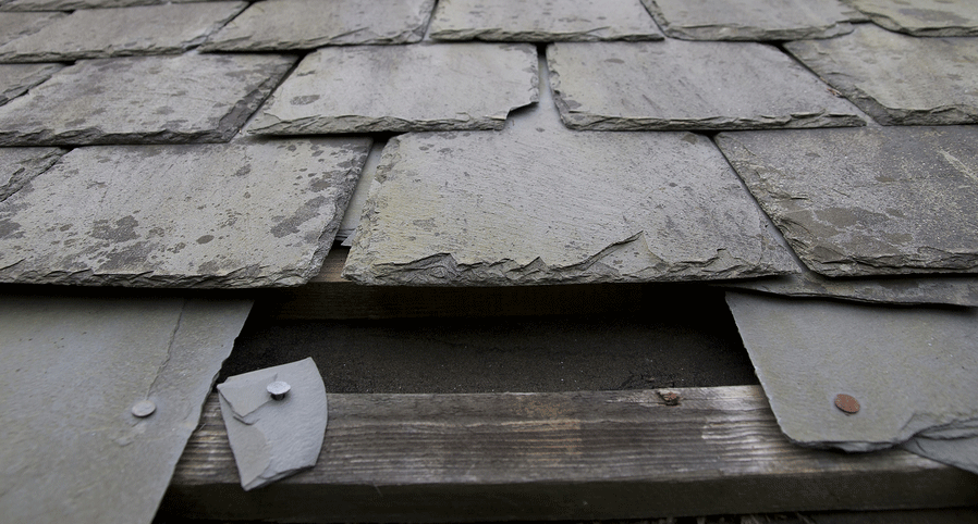 Slate roofs repaired by Oakley Roofing